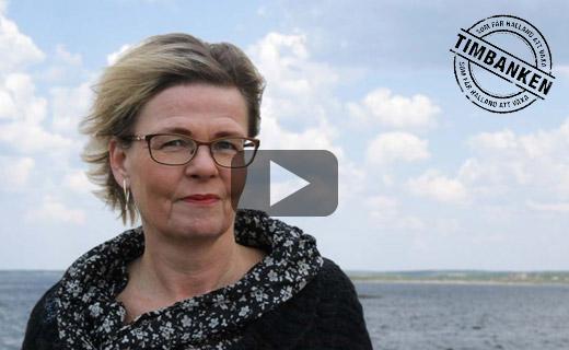 Säljcoach Hanna Plymouth, vid hav, som konsult för Timbanken /Halland gratis kostnadsfritt